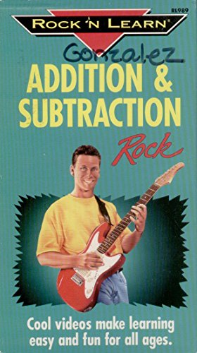Addition & Subtraction Rock [VHS] (Rock N Learn Addition And Subtraction Rock)