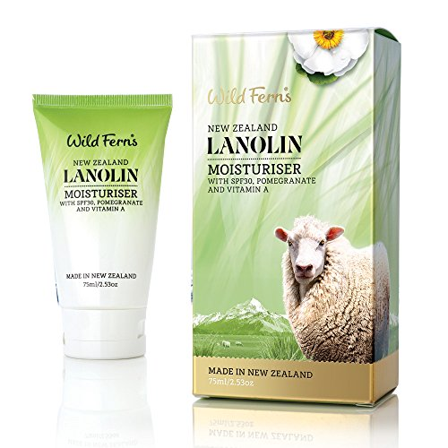 (Wild Ferns Lanolin Moisturizer SPF30 with Pomegranate and Vitamin A)