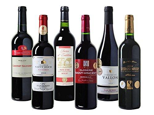 Wein Probierpaket Frankreich Trocken (6 x 0.75 l)