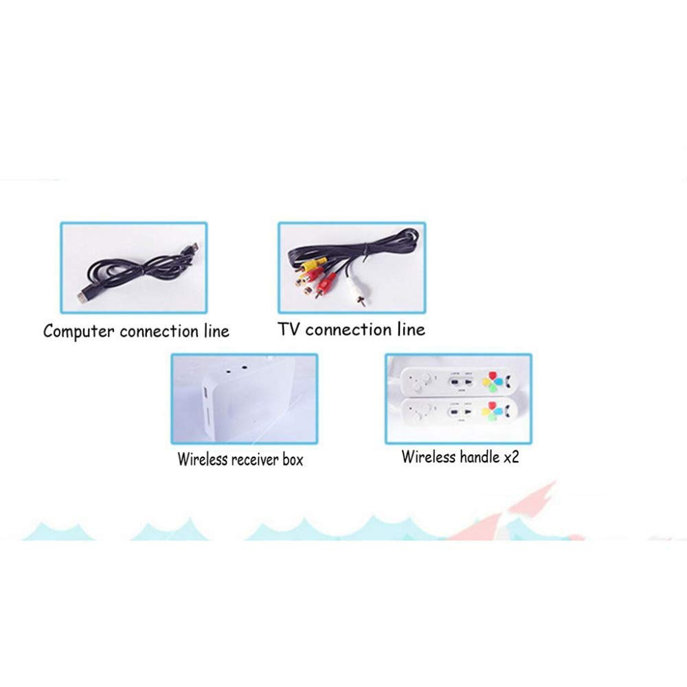 rui @ Double Wireless Dance Game Mat Pad Blanket, Somatosensory Game Console Dance Machine, Suitable For Children And Adults To Connect Tv And Computer Weight Loss Exercise Game Console(English Ver by RUIJING (Image #6)