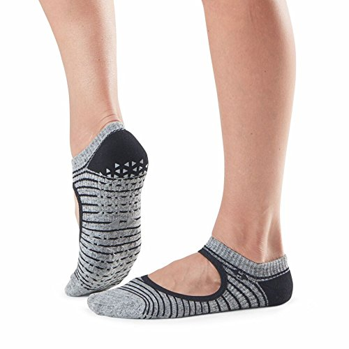 Cheap Tavi Noir Chey Mary Jane Fashion Grip Sock, Moon Stripe, Medium