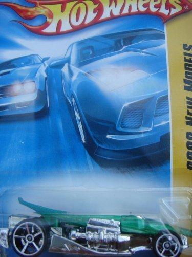 - Hot Wheels CROC ROD Faster Than Ever {FTE} wheels, Crocodile Hot Rod Collector Green #18 1/64 2008