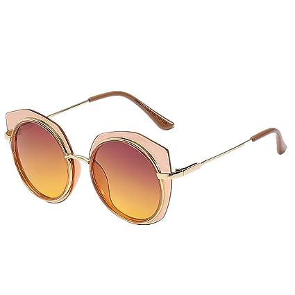 Aclth Niños Chicas Lindas Gafas de Sol polarizadas Durable polígono Irregular Marco Niños Gafas de Sol