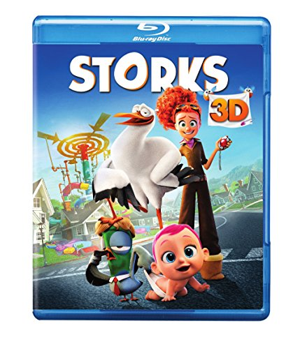 Storks (Blu-ray 3D + Blu-ray + DVD + ()