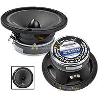 Audiopipe 6 250W Low Mid Frequency Loud speakers APMB-6-B FULL RANGE