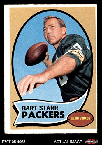 1970 Topps # 30 Bart Starr Green Bay Packers (Football Card) Dean's Cards 4 - VG/EX Packers