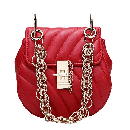 Sacs à main pour les femmes Designe Tote Satchel Crossbody Shoulder Messenger Bag Red