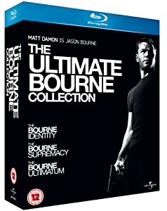 The Ultimate Bourne Collection Trilogy (The Bourne Identity / The Bourne Supremacy / The Bourne Ultimatum) from Imports