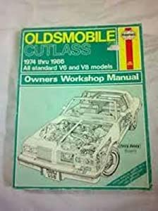 Paperback Oldsmobile Cutlass Owner's Workshop Manual Book