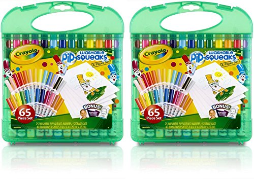 Crayola Count Washable Pip Squeaks Pack