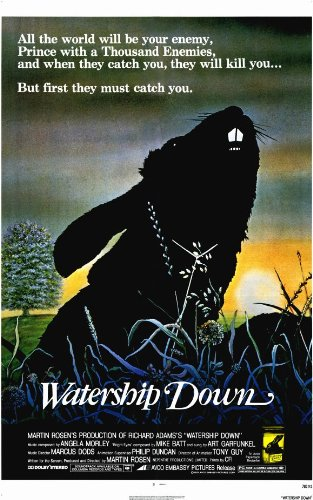 (Watership Down Poster Movie 11x17 Richard Briers Ralph Richardson Zero Mostel John)