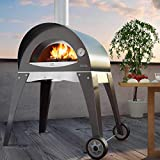 """ALFA Ciao M 27"""" Countertop Wood Fired Pizza Oven"""