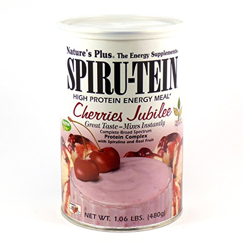 Nature's Plus Spiru-Tein Cherries Jubilee 1.06 lb Pwdr