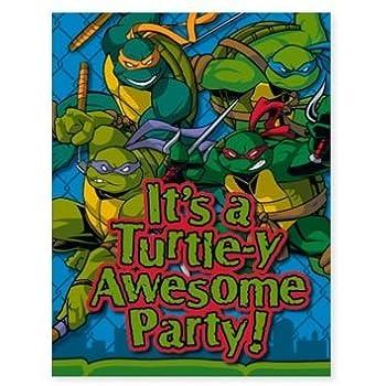 Amazon.com: Amscan – Teenage Mutant Ninja Turtles Leonardo ...