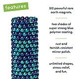 Speks Magnetic Balls - Duotone Denim Set of 512