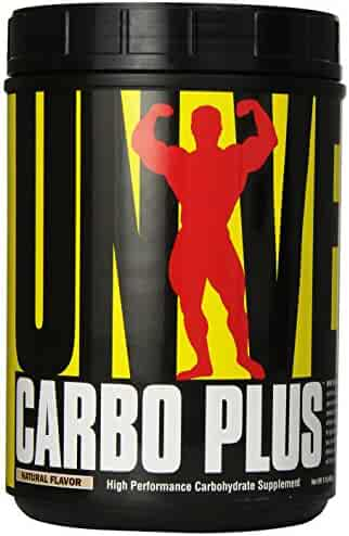 Universal Nutrition Carbo Plus Dietary Supplement, High-Performance and Endurance, Natural Flavor, 16 Ounces