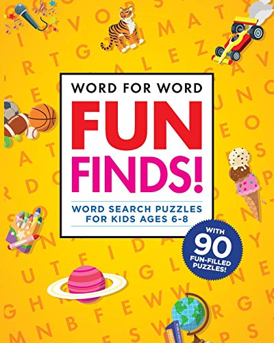 Word for Word: Fun Finds!: Word Search Puzzles for Kids ages