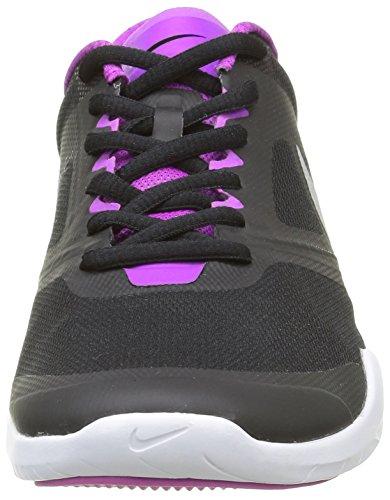 pretty nice e7470 fc63a Voltblackmétallisé Nike femmes Volt Schwarznoirargent Hyper Chaussures  Multisport Indoor pour métallisé d entraînement mN80wOvn