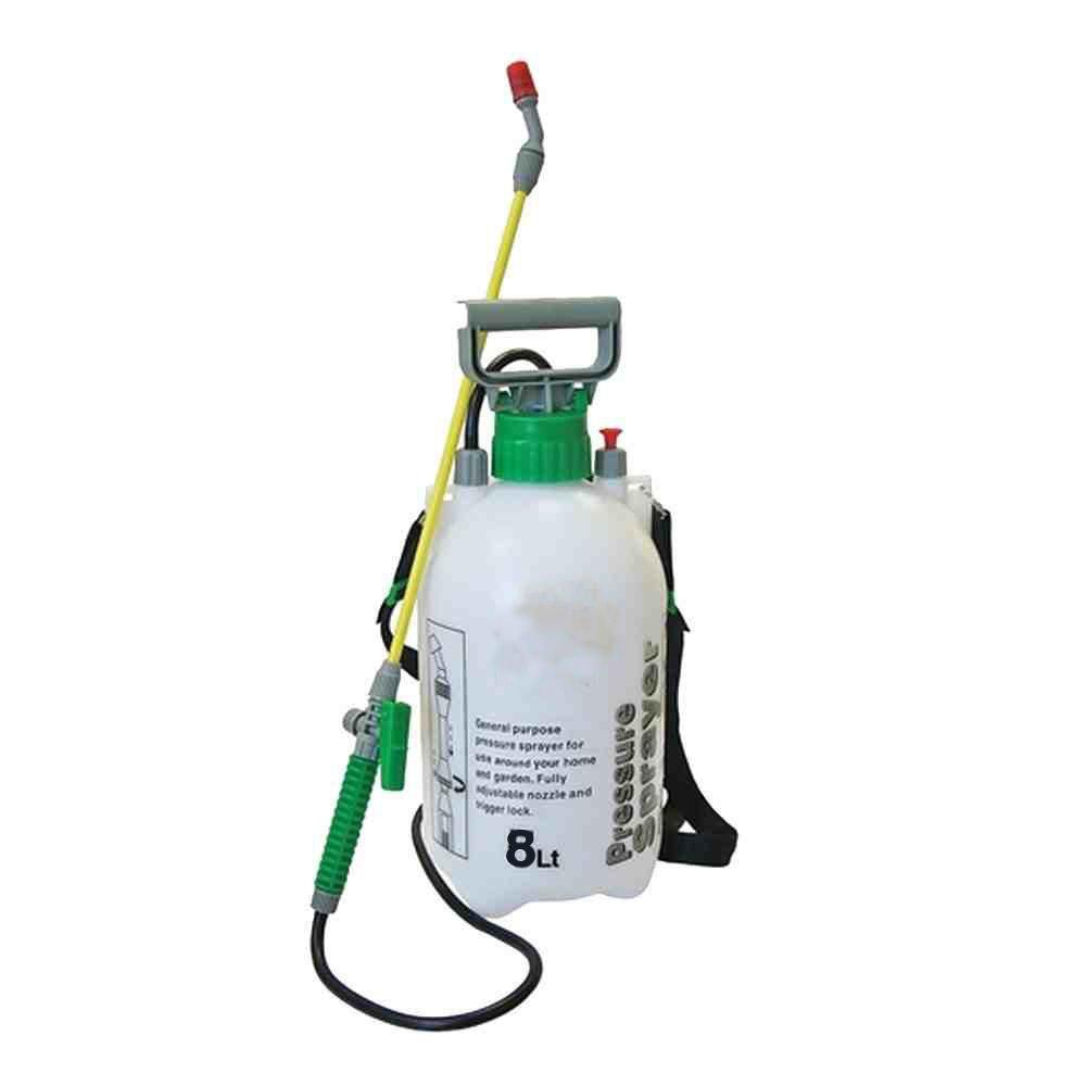 Garden Pressure Sprayer 5L Knapsack Chemical Weed Killer Fence Water Bottle Pump