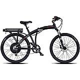 ProdecoTech Phantom X2 V6 Folding Electric Bicycle - Black/Black