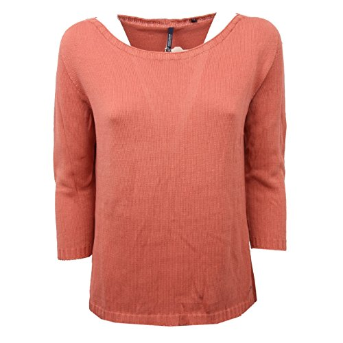 Sweater Cotone Ruggine Woolrich C5368 Donna Maglione Woman qyHFIvFUw