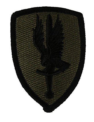 - 1ST AVIATION BRIGADE UNIT PATCH - OD Green/Black - Veteran Owned Business