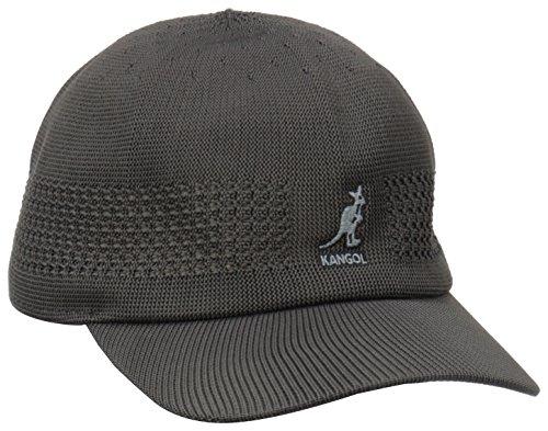 Kangol Headwear Tropic Ventair Spacecap - Gorra de béisbol para hombre Negro carbón
