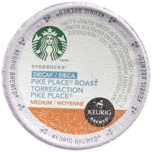 Starbucks Decaf Pike Place Roast 48 K-Cups (Packaging May Vary)