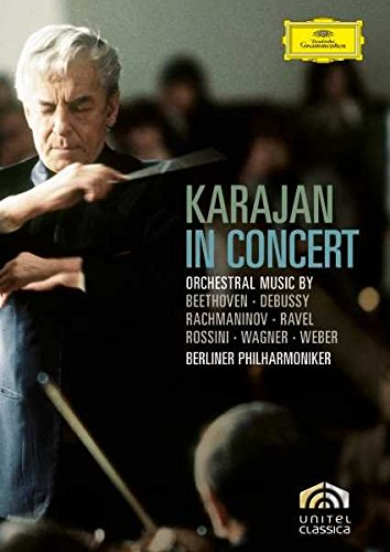 DVD : Herbert von Karajan - Karajan In Concert (Full Frame, Subtitled)