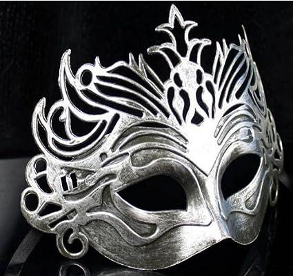 maschera bocca argento