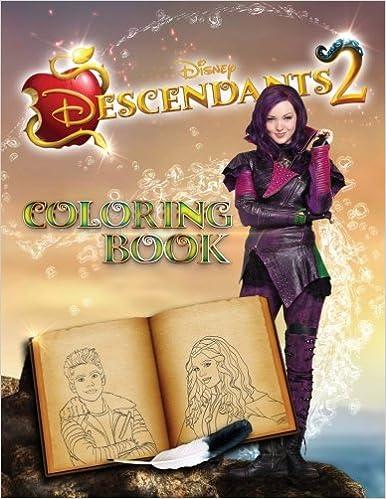 Amazon Com Descendants 2 Coloring Book 9781979253352 Leona Smith