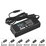 KFD 12V 3.33A (3A /2A /1A Compatible) Universal AC DC Adapter Charger Switching Power Supply Cord With 6 Selectable Adapter Plugs 6.5x4.4MM /6.5x3.0MM /5.5x2.5MM /4.8x1.7MM /4.0x1.7MM /5.5x3.0MM
