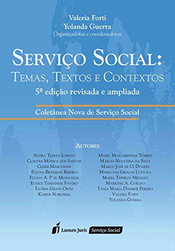 Servico Social: Temas, Textos e Contextos PDF
