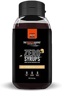 The Protein Works Siropes Zero, Caramelo - 600 ml