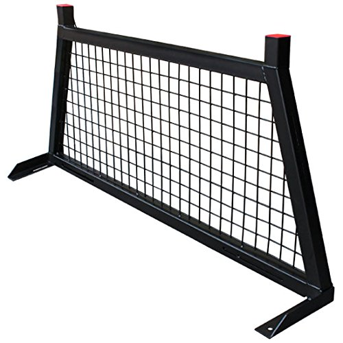 Pick Up Truck Rear Back Window Cab Screen Protector Cage Headache Rack ()
