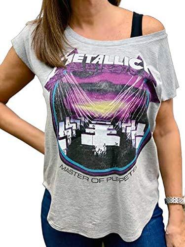 Metallica Master of Puppets Junior Women's T-Shirt - S to XL