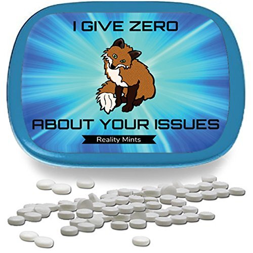 I Give Zero Fox About Your Issues Mints – Funny Gag Gifts