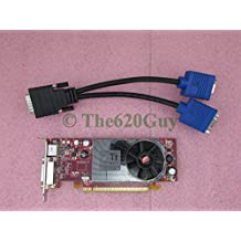 Dell Y103D ATI Radeon HD 3450 256MB PCIe x16 Low Profile Video Card + Y Cable