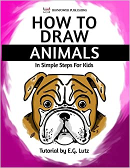How To Draw Animals In Simple Steps For Kids Easy Cartoon Drawing