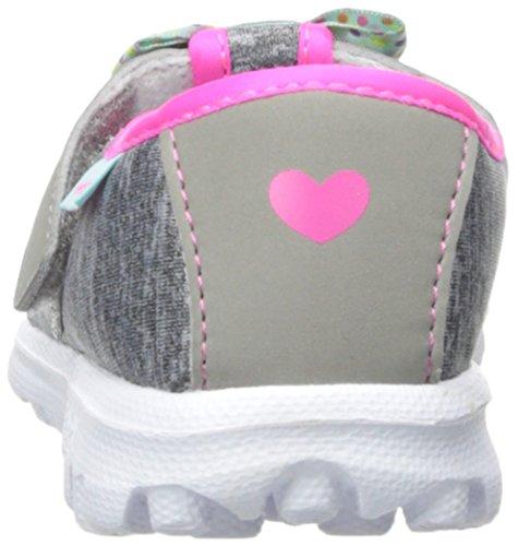 Skechers Kids Go Walk Bitty Bow Sneaker (Toddler/Little Kid),Gray/Multi, by Skechers (Image #2)
