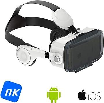 NK GF3114 - Gafas con Visor Adaptador 3D Realidad Virtual VR ...