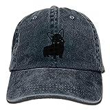 LETI LISW Funny CorgiClassicDenim Cap Adult Unisex Adjustable Hat