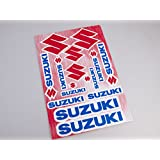 Suzuki Stickers Decals 30x20cm vinyl with extra protection on top (Blue)