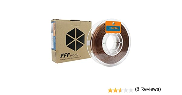 FFFworld FilaMETAL Copper 250 gr. 2.85 mm Filamento metálico para ...