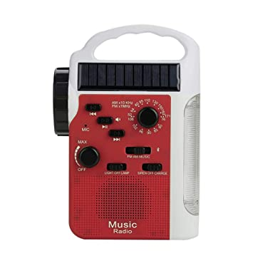 Radio Recharge Solaire À Amfm MultifonctionDe Énergie MVqGUpSz