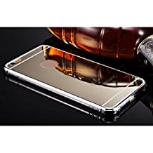 Lookatool New Ultra-thin Luxury Aluminum Metal Mirror Case Cover for iPhone 6 4.7' (Silver)