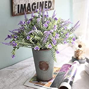 Kimura's Cabin Artificial Flowers Wheat Flowers 3pcs Artificial Plants, Wedding Boxes, Indoor and Outdoor Home Kitchens, Desk Decorations, Christmas Decorations 84