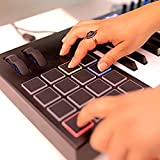 Alesis, 61-key 61-Key USB Keyboard Controller Pads, 16 Assignable Knobs, 48 Buttons and 5-Pin MIDI Out, Plus a Professional Software Suite with ProTools | First Included, 61-key