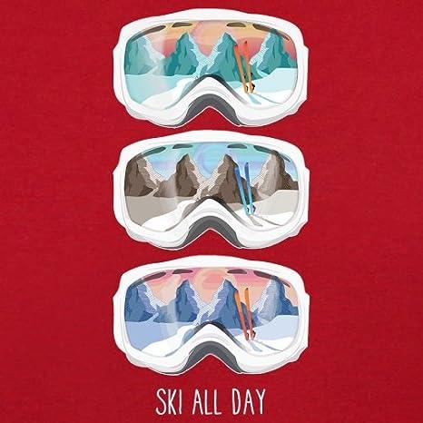 9 Colours 1-13 Years Kids Hoodie Dressdown Ski All Day