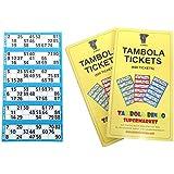 Tambola Tickets: Blue Border